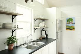 Painting Kitchen Countertops Chalkboard Painted Countertops Open Kitchen Shelves Assortment