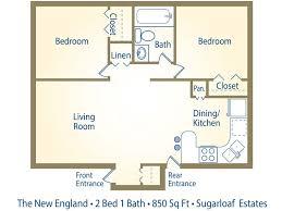2 bedroom 1 bath floor plans house plans 2 bedroom 1 bathroom house plans