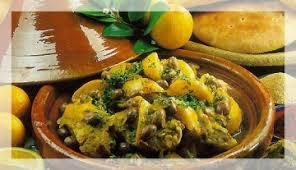 cours de cuisine marocaine cours cuisine marrakech tajine de poulet au citron