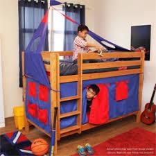 Play Bunk Beds Play Bunk Beds Color Golden Oak