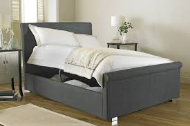 Ottoman Storage Bed Frame by Hyder Living Vienna Fabric Ottoman Storage Bed Bedworld At