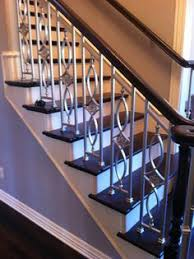 1930s Banister Stainless Steel Stair Balusters House Of Forgings Stairs