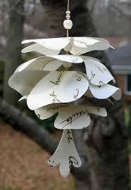 paper pine cone ornament by all things paper project home