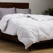 White Down Comforters Famous Maker 230 Thread Count Medium Weight White Down Comforter