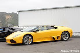 Lamborghini Murcielago Convertible - symbolic motor car company exotic car spring event coverage
