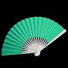 paper fans bulk 9 teal green paper fans for weddings premium paper stock