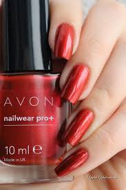 avon nailwear pro refined ruby u003c3 my polish stash pinterest