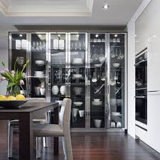 dining room glass cabinet 15 charming kitchen designs with glass cabinets rilane