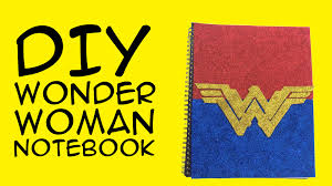 diy wonder woman logo notebook dc wonder woman fandom a