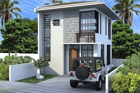 Simple Two Storey House Design Philippines House Plans