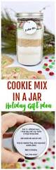 cookie mix in a jar gift for christmas gift giving make life lovely