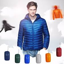 ultra light down jacket in a bag down coat male ultra light down jacket men winter jackets