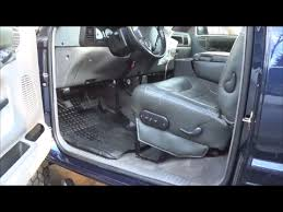 2nd gen dodge ram driver seat bottom cushion replacement how to