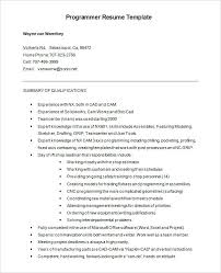 Resume In Word Format Download For Free Resume Samples Word Format Download Free Programmer Resume Word