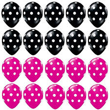 Pink And Black Minnie Mouse Decorations 246 Best Minnie Mouse Images On Pinterest Foil Balloons Party