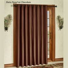 Patio Door Window Panels Patio Door Curtain Panels Touch Of Class