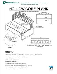 hollow core plank photograph on house plans beside slabs