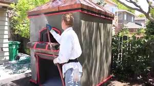 Backyard Pizza Ovens Rendering Cement Plaster On A Backyard Pizza Oven Youtube