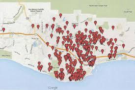 Santa Barbara Map Short Term Vacation Rentals Exacerbate Santa Barbara U0027s Tight Local