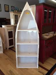 Boat Shelf Bookcase Boat Bookshelf Lam Brother U0027s Unfinished Furniture