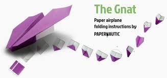 the gnat u2013 paper airplane instructions u2013 papernautic