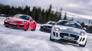 jaguar f type vs porsche 911 jaguar f type r vs nissan gt r nismo vs porsche 911 turbo