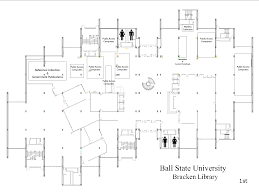 Floor Plan Library by Floorplans For Ball State University Libraries