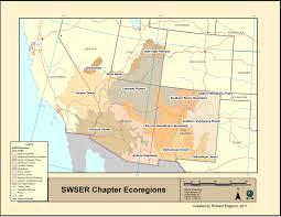 Std Map Geographic Region Ser Southwest Chapter