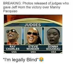 Stevie Meme - judges ray charles stevie wonder usa donna goudeau usa usa the