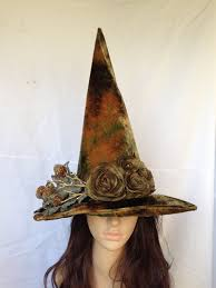 witch hat autumn amber forest witches hat by mermaidencreations