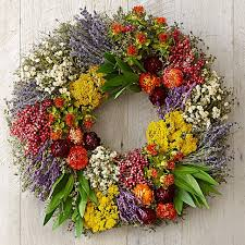 farmers market herb wreath williams sonoma