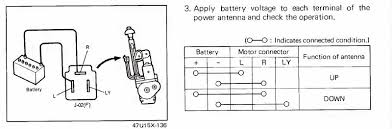 wiring diagram for car antenna wiring wiring diagrams collection