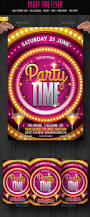 party time flyer u2014 photoshop psd summer cocktail entertainment