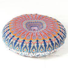 decorative bohemian floor pillow cushion mandala floor pillows