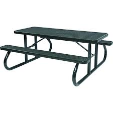 lifetime 6 folding outdoor picnic table brown 60110 lifetime wood grain folding picnic table 60105 the home depot
