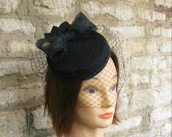 funeral veil funeral hat etsy