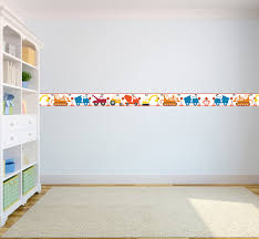 wallpaper borders children u0027s kids nursery boys girls bedroom wall