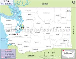 253 area code of us 206 area code map where is 206 area code in washington