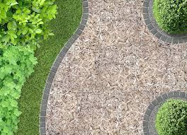 Garden Path Ideas Garden Path Ideas Mulch Gravel Wooden Paving
