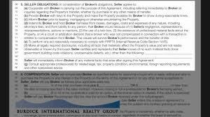 florida listing agreement burdick international realty inc youtube
