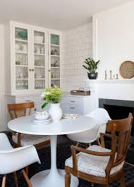 dining table in front of fireplace eat in kitchen with fireplace vintage dining room