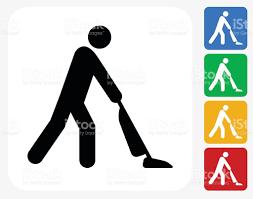 vacuuming icon flat graphic design stock vector art 489124126 istock