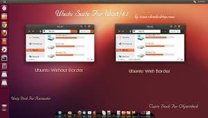 ubuntu theme for win 8 8 1 updated by cleodesktop on deviantart