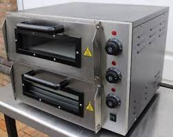 table top pizza oven infernus double deck electric table top pizza oven stone base 16