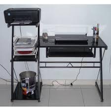 bureau informatique verre trempé bureau informatique en verre maison design hosnya com