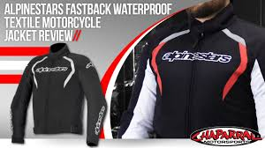 waterproof motorcycle jacket alpinestars fastback waterproof textile motorcycle jacket review