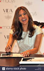 actress eva mendes launches her new home decor line u0027vida u0027 at