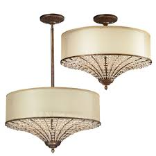 elk 11701 4 crystal spring spanish bronze overhead lighting