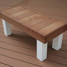 composite benches upgrade your deck and add finishing touches