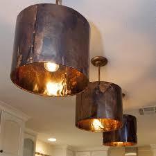 Hammered Copper Pendant Light Copper Pendant Lights Kitchen Home Interior Design Hammered Copper
